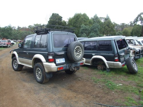 Nj Swb Roof Racks Pajero 4wd Club Of Victoria Public Forum